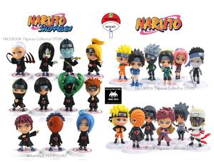 Mini figuras de Naruto tipo chibi