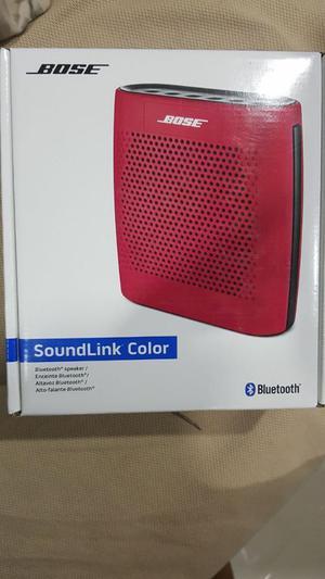 Altavoz Bose Soundlink Color.