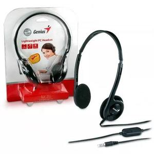 Audifonos Genius Modelo HS200C Lightweight PC Headset