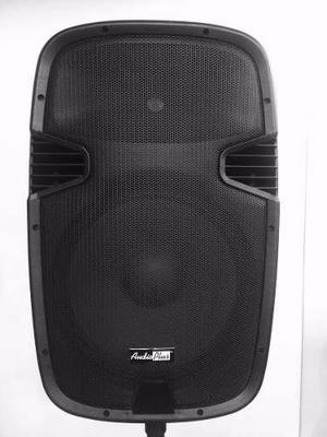 Cabina Activa Altavoz 15 Pulgadas Audioplus Bluetooth Sd Usb