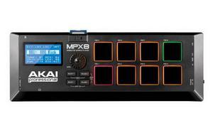 Controlador Midi Akai Mpx8 Sample Player Sampler Mobile Sd