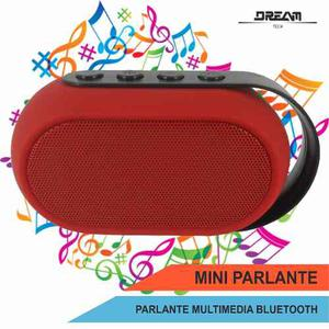 Mini Speaker Parlante Bluetooth Fm Usb Micro Sd Recargable