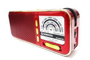 Radio Parlante Bluetooth Recargable Litio Sonivox Vs-rbt