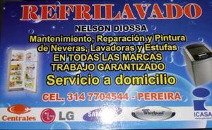 Reparación de Lavadoras Y Neveras