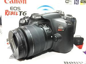Vendo Canon Eos Rebel T6