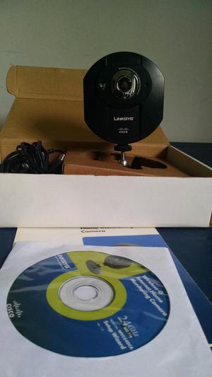 cámara de seguridad LINKSYS WVC54GCA