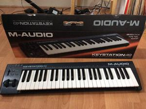 Keystation 49 Maudio M AUDIO Controlador MIDI