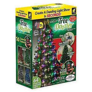 Luces Arbol Navidad Decoración Tree Dazzler ! Las De La Tv