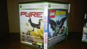 BATMAN LEGO mas PURE !! 2 Juegos a precio de uno original
