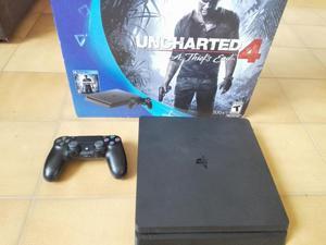 Consola PS4 Play Station 4 Slim y con Control Original