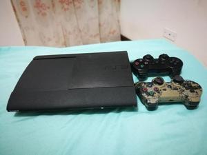 PS3 SUPER SLIM!! 500 GB Y 40 JUEGOS INTERNOS!!