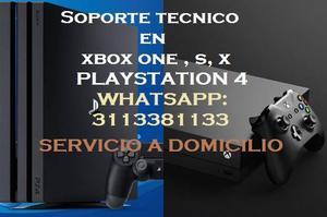 Soporte Técnico Especializado En XBOX ONE Y PLAYSTATIION 4
