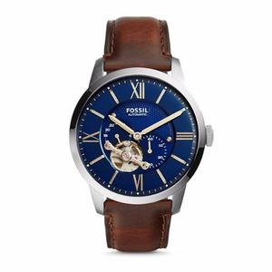 Reloj Fossil Townsman Automático Cuero Hombre Me