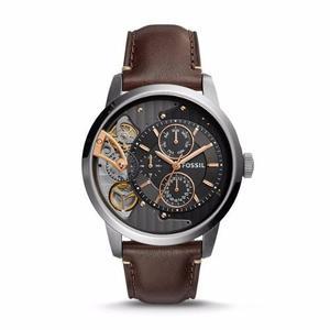 Reloj Fossil Townsman Twist Cuero Hombre Me