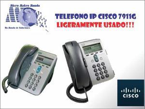 Telefono Ip Cisco g Poe, Sin Adaptador