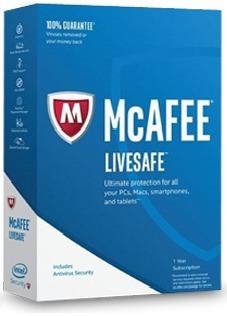 Antivirus Mcafee Livesafe  Licencia Electronica