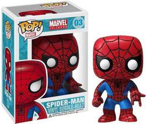 Funko Pop Spider Man (03) Spider Man Marvel