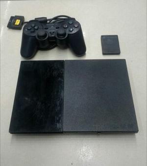 Play Station 2 + 2 Controles + 5 Juegos + Memory Card