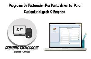 Software Pos Punto De Venta Facturacion Inventario Contable