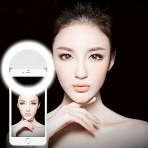 Aro De Luz Flash Clip Led Para Celular Selfie Light Foto