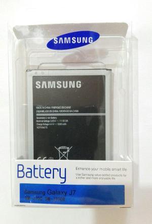 Bateria Samsung Galaxy J7 Original J700 Caja Fabrica Nfc