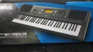 Teclados Yamaha Psr E 363 base y adapta