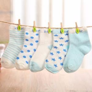 5 Pares De Medias Para Bebés