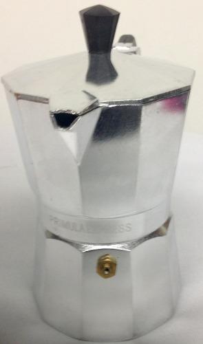 Cafetera Espresso Primula En Aluminio Pesado 3 Cups Original