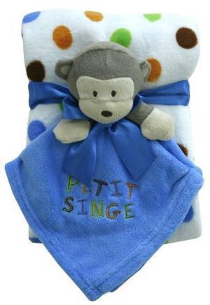 Cobija Cobertor Para Bebe Niño Niña + Cobijita Babeadora