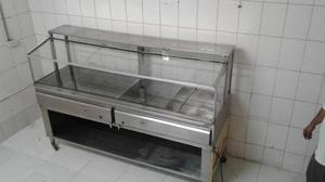 Estufa industrial, Campana, Bufett, maquina de moler, mesas,