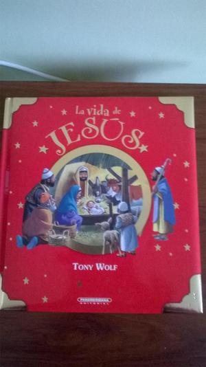 """VENDO LIBRO """"LA VIDA DE JESUS"""" DE Tony Wolf"""