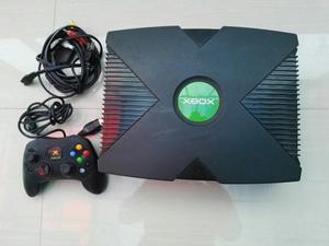 Xbox Clasico Con Disco De 80 Gb Lleno De Juegos