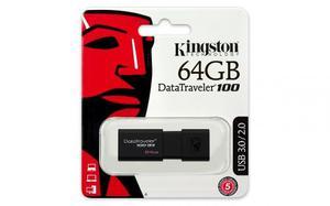 Kingston Digital 64gb 100 G3 Usb 3.0 Datatraveler