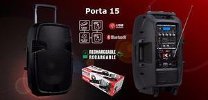 Cabina Portatil Recarga Kohlt Porta Usb Blueto +microf