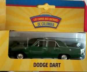 Carro A Escala 1:43 Dodge Dart Color Verde