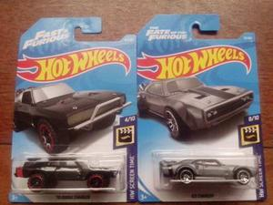 Combo 2 Modelos Hot Wheels Ice Dodge Charger Rápido Furioso