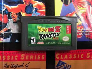 Dragon Ball Z Taiketsu Nintendo Boy Advance Gba Original