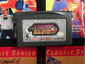 Megaman Battle Network 3 White Nintendo Boy Advance Gba