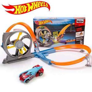 Pista De Carro Hot Wheels Turbina De Choque Original Mattel