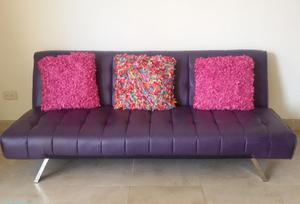 Sofa cama morado