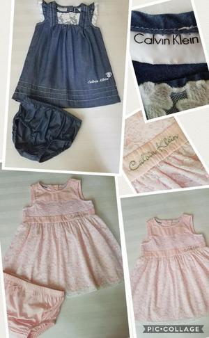 2 Vestidos para Niña Talla 12 Meses Marc