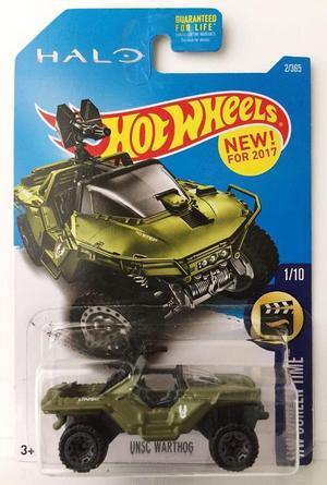 Espectacular carro Hot Wheels HALO UNSC WARTHOG