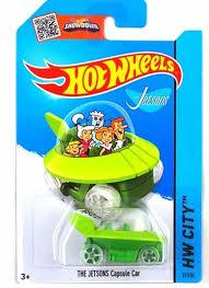 Espectacular carro Hot Wheels Los supersonicos The Jetsons