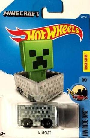 Espectacular carro Hot Wheels Minecraft