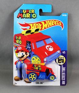 Espectacular carro Hot Wheels Super Mario Bros