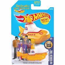 Espectacular carro Hot Wheels The Beatles Yellow Submarine