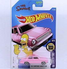 Espectacular carro Hot Wheels The Simpsons