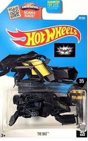 Espectacular nave Batman Hot Wheels The Bat