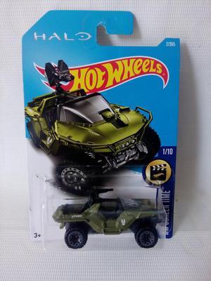 Halo Unsc Warthog Hotwheels Diecast Colección