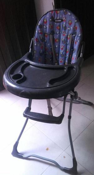 silla para comer de bebe mas soporte para bañera